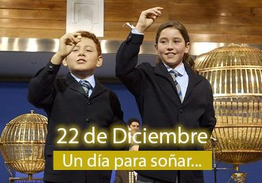 Historia Sorteo de Navidad - 22 de diciembre